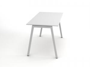 недорогой офисный стол 140х75х70 RD-1470 в белом цвете